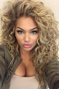2018 Latest Long Hairstyles Curly Hair