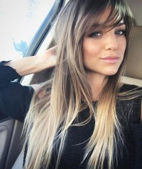 Haircut Styles Long Hair Side Bangs - Haircuts Models Ideas