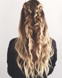 15 Best Collection of Long Curly Braided Hairstyles