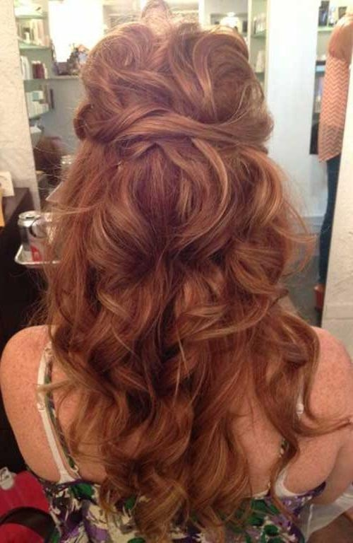 Hairstyle For Evening Gown
