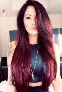 dark red hairstyles - HairStyles