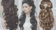 collection of long curly