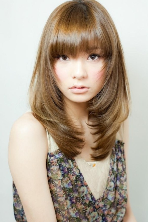 30 Japanese Layered Long Hairstyles Hairstyles Ideas Walk The Falls