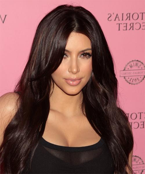 30 Kim Kardashian Long Hairstyles 2017 Hairstyles Ideas Walk