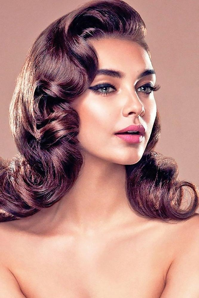 2019 Latest Long Hair Vintage Hairstyles