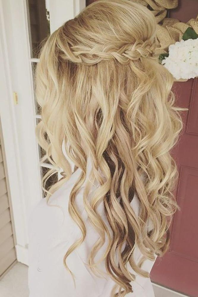 15 Ideas of Long Hairstyles Curls Wedding