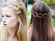 prom hairstyles straight