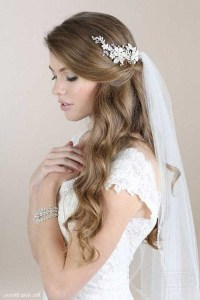 15 Photo of Long Hairstyles Veils Wedding