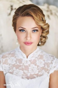 2018 Latest Vintage Updos Hairstyles For Long Hair