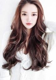 2018 popular long hairstyles asian
