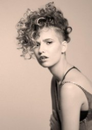 ideas of edgy short curly