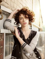 inspirations of short curly