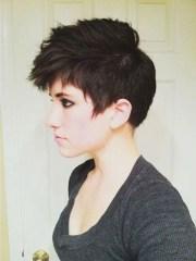 2019 latest short edgy girl haircuts