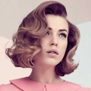 vintage hairstyle short hair