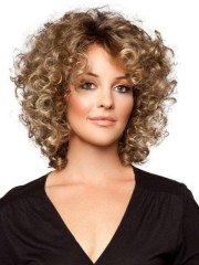 of short fine curly hair