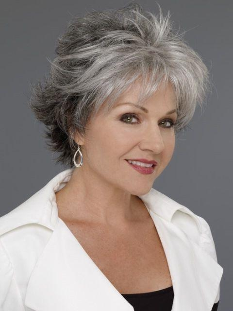 Photo Gallery Of Short Haircuts For 60 Year Old Woman