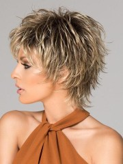 2018 popular short choppy layered