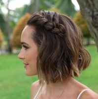 15 Photo of Hairstyle For Short Hair For Wedding