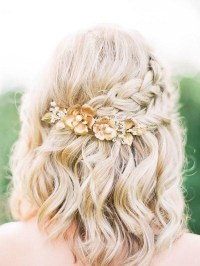 Cute Hairstyles For Short Hair Weddings