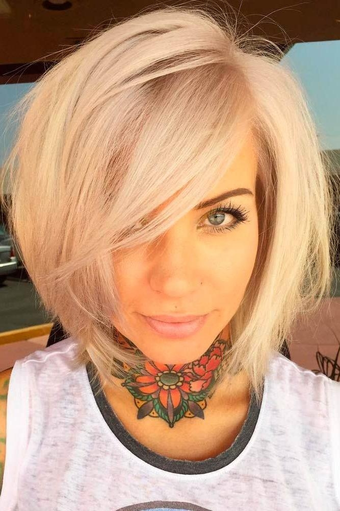 15 Inspirations of Short To Mid Length Hairstyles