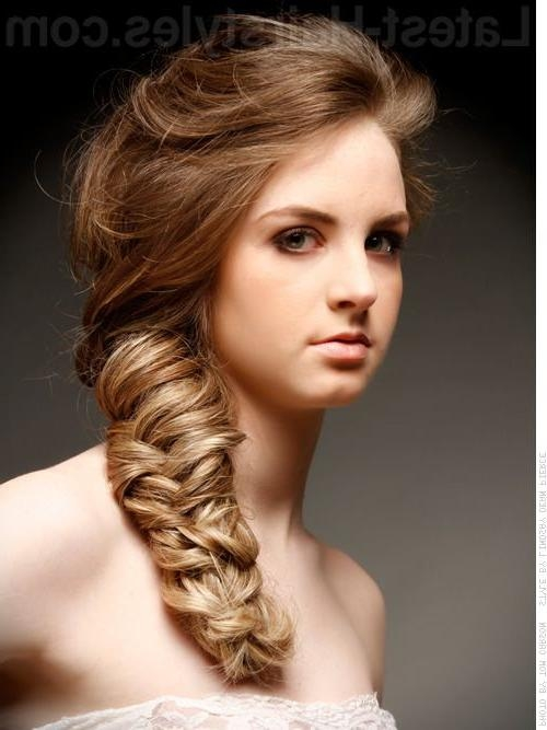2018 Latest Long Hairstyles For Cocktail Party