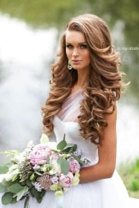 15 Collection of Curly Hairstyles For Weddings Long Hair