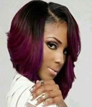 of asymmetrical bob hairstyles