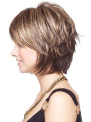 collection of layered bob