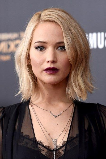 15 Best Of Jennifer Lawrence Short Bob Haircuts