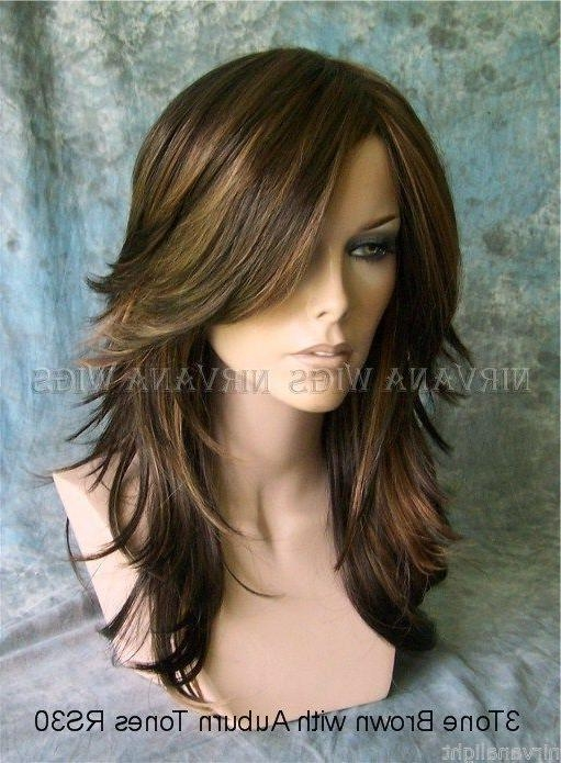 Image Result For Choppy Layers Long Hair