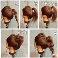 15 Ideas of Medium Long Updos Hairstyles