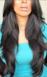 15 Best Collection of Black Hair Long Layers