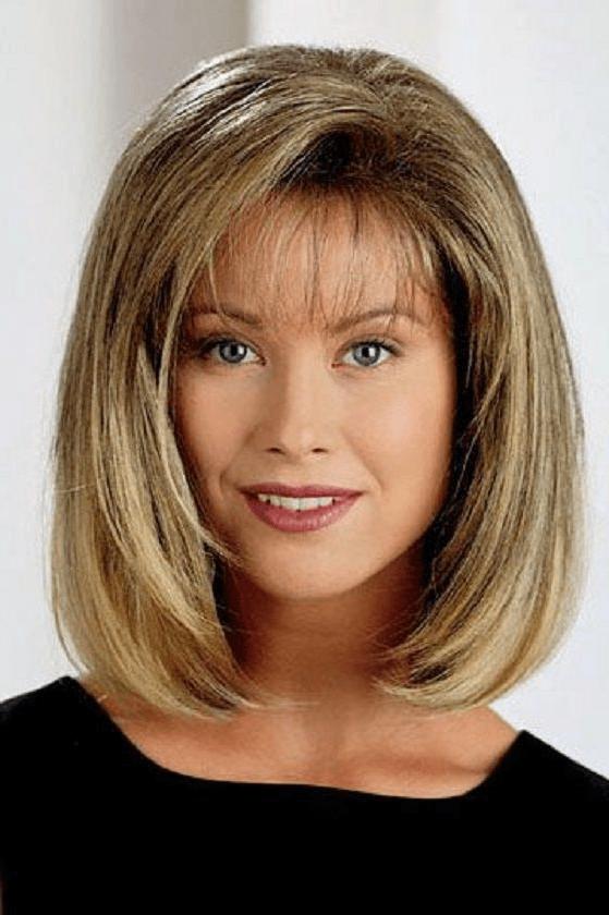 30 Fall 2018 Hairstyles Shoulder Length Fringe Bang Hairstyles