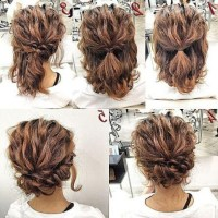 15 Ideas of Medium Long Updos Hairstyles