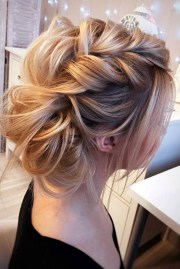ideas of medium long updos hairstyles