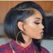short bob hairstyles with weave