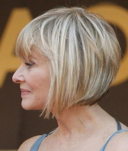 15 Best of Bob Hairstyles For Old Women