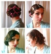 easy retro hairstyles long