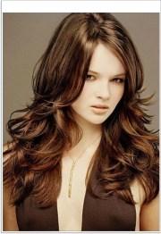 choppy layered hairstyles long