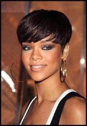 collection of rihanna bob hairstyles