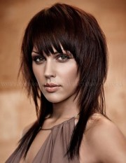 long hairstyles with bangs 2018