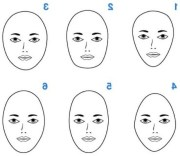 makeup faces - style