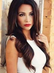 2019 popular brunette long hairstyles