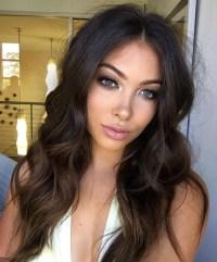15 Ideas of Long Hairstyles For Dark Hair