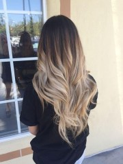 ideas of ombre long hairstyles