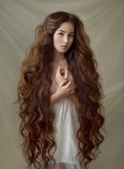ideas of super long hairstyles