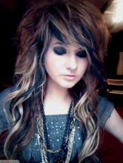 ideas of emo long hairstyles