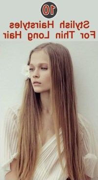 15 Collection of Long Haircuts For Thin Hair
