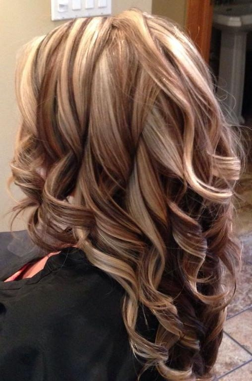 2019 Popular Long Hairstyles With Highlights And Lowlights