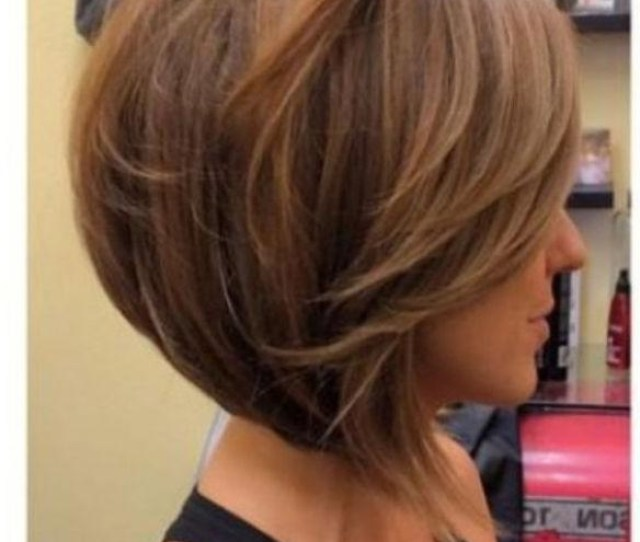 Lob Haircut Thick Hair With Most Popular Medium Length Inverted Bob Hairstyles For Fine Hair
